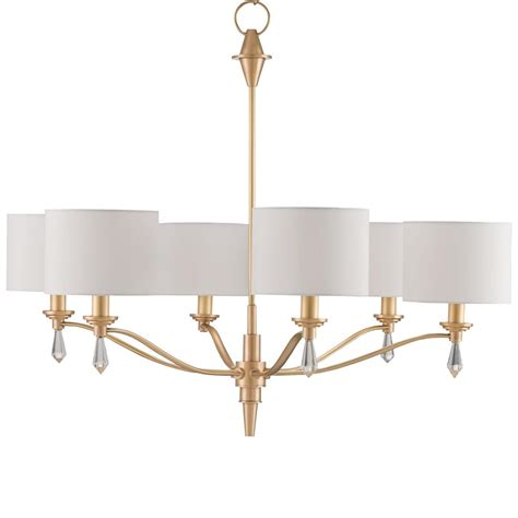 Modern Classic Chandelier modern classic brushed gold finial 6 light