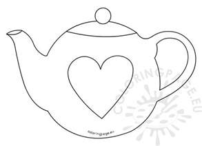 s day card template s day teapot card template coloring page