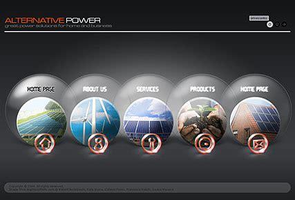 Alternative Power Dynamic Easy Flash Template Html5 Web Templates 300110600 Dynamic Flash Website Templates Free