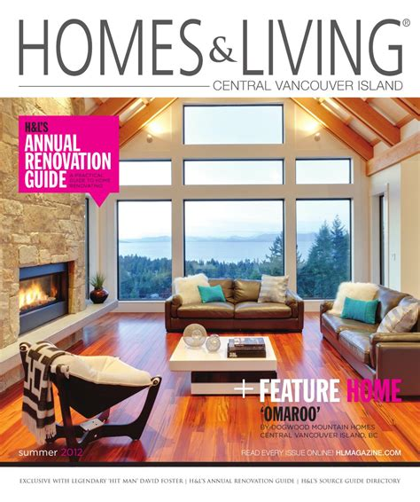 wa home design living magazine summer 2012 homes living central island magazine by