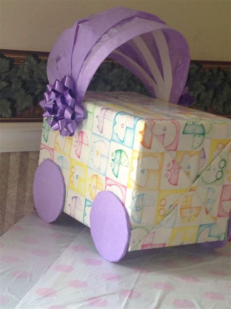 Baby Shower In A Box Ideas by Baby Shower Gift Card Box 1 Box 2 Gift Wrapping Paper