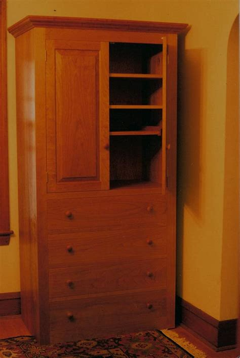 Armoire Entertainment Centers by Cherry Armoire Entertainment Center Handmade In Vermont