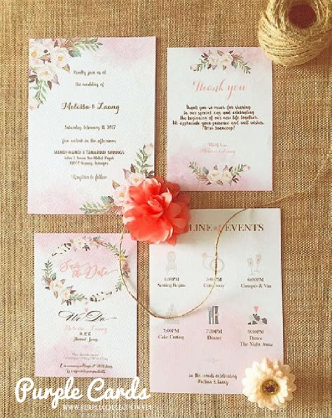 Wedding Invites Printing Malaysia by Wedding Card Malaysia By Purplecollection Modern
