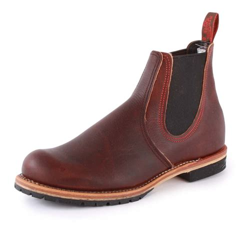 mens redwing boots wing chelsea boot 2917 2 mens slip on new shoes