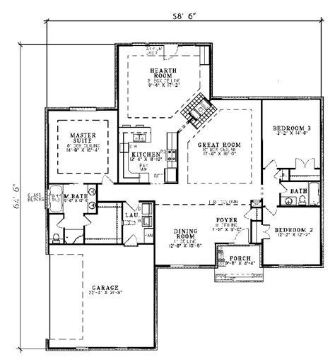 traditional floor plan harrahill traditional home plan 055d 0031 house plans