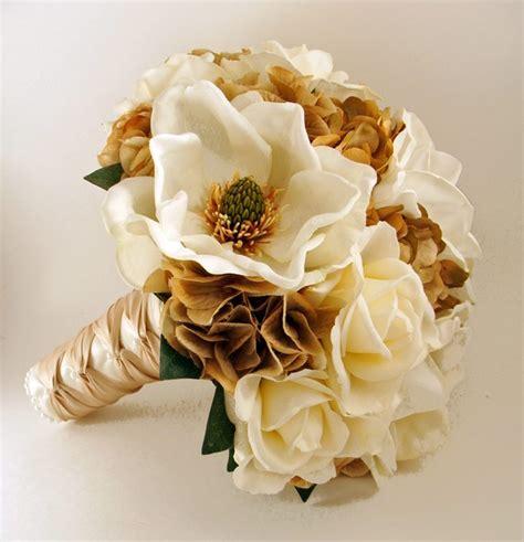 Handbouquet Goldwhite floral news ga magnoila you re looking
