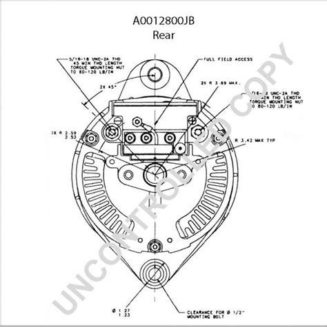 leece neville 160 alternator wiring diagram auto