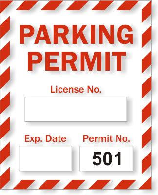 static cling parking permits free shipping from