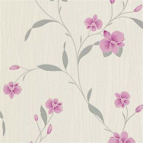 wallpaper pink and cream erismann orchid wallpaper pink cream 9745 05