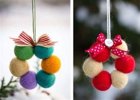 decorar bolas de navidad con fieltro bolas fieltro decorar 10 modablogger