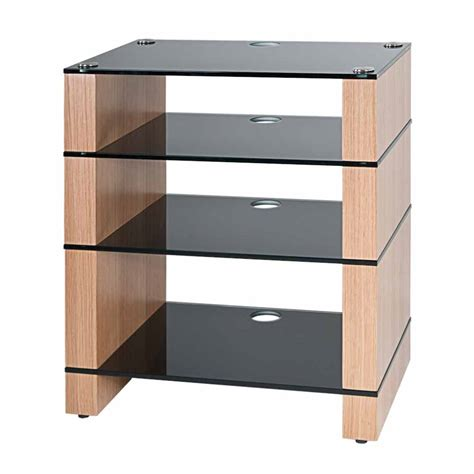 Shelf Stands hifi stand four shelf av furniture audio rack blok stax