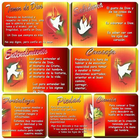 imagenes de los 7 dones del espiritu santo dones del espiritu santo y su significado pictures to pin