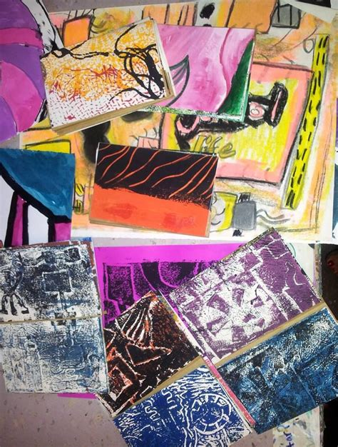 Practical Mixed Media Printmaking 12 best children s mixed media images on