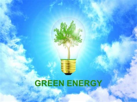 green energy powerpoint template green energy template