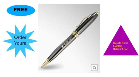 royale excel lighted ballpoint pen free royale excel lighted ballpoint pen company name
