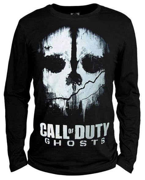T Shirt Call Of Duty Mw3 Coklat autumn sleeve 10 call of duty t shirt 10 ghosts