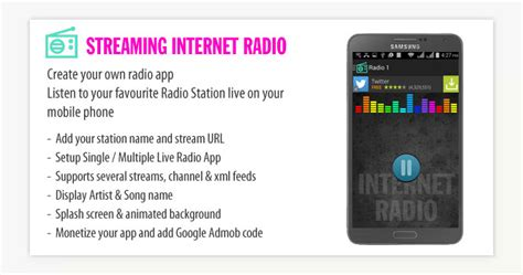custom quot interactive wallpaper quot the android development streaming internet radio android app mobile app