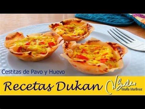 desayunos para la dieta dukan 5 ideas faciles desayuno dukan fase ataque cestitas de pavo y huevo