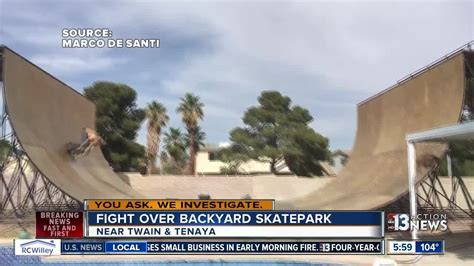 Backyard Neighbors by Backyard Skatepark Upsetting Neighbors Gogo Papa