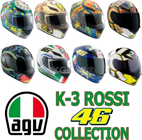 Agv K3sv 5 Continents Mulus Sold Free 2day Ship Agv K3 Series Valentino 46