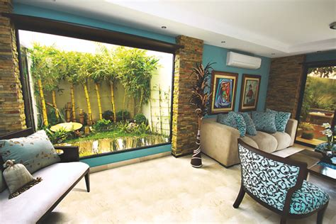 imagenes jardines interiores casas revista crear ambientes jardines