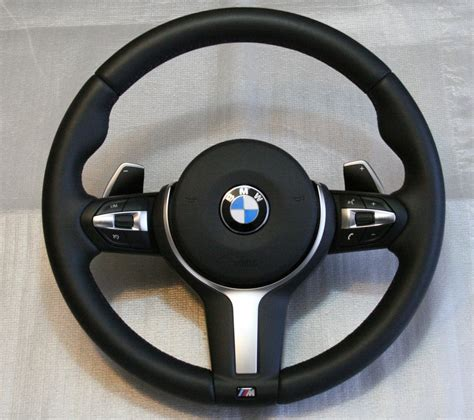 C M B 30 m sports leather steering wheel with shift paddles bmw