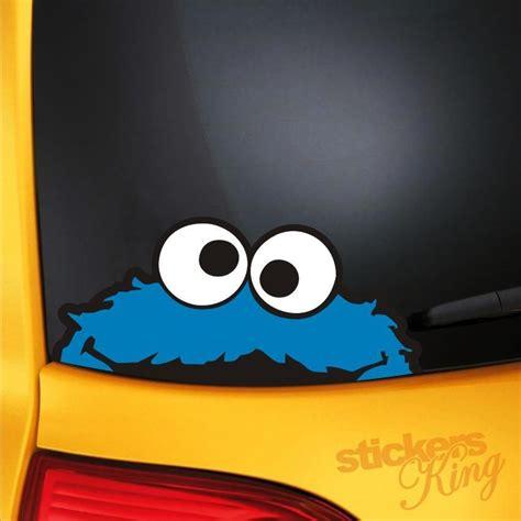 Cookie Monster Aufkleber by Cookie Monster Funny Car Van Bumper Window Vinyl Decal