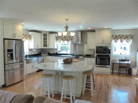 Kitchen Island With Seating On 2 Sides Kitchen Cabinets Impressive Price Quality