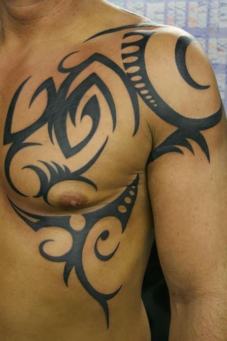tribal shoulder blade tattoos shoulder blade tattoos for tattoos