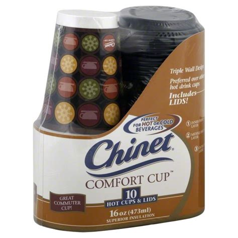 Chinet Comfort Cups by Chinet Comfort Cups Or Cold Superior Insulation With