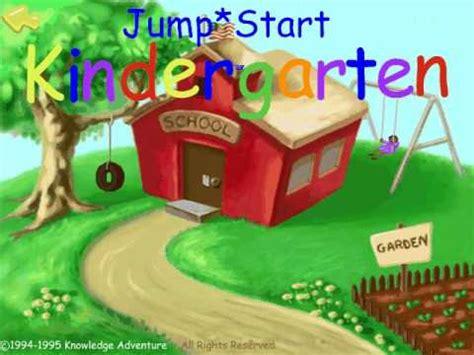Pc Jump Start Kindergarten jumpstart kindergarten 94 introsong
