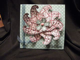 Signature Square Organza Dot Pink the crafty cuttings of wiccababe april 2009