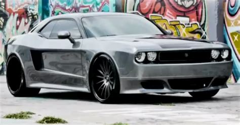 widebody muscle cars custom dodge challenger body kits images