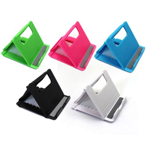 desk cell phone holder universal folding table cell phone support plastic holder