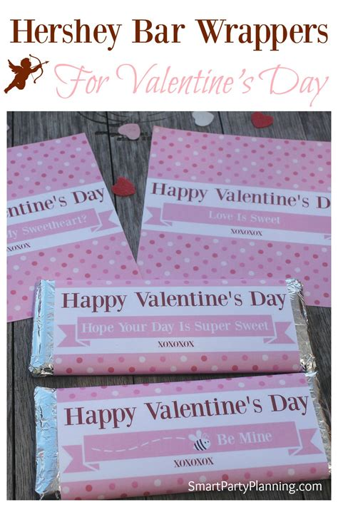 bar sayings for valentines day hershey bar wrappers for s day