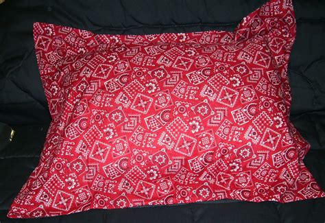 red bandana comforter red bandana bedding full size pillow sham with flange