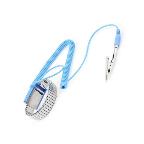 Anti Static Esd Wrist Blue antistatic esd wristband metal adjustable grounding