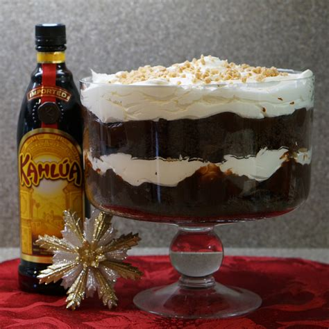 easy kahlua chocolate trifle we re calling shenanigans