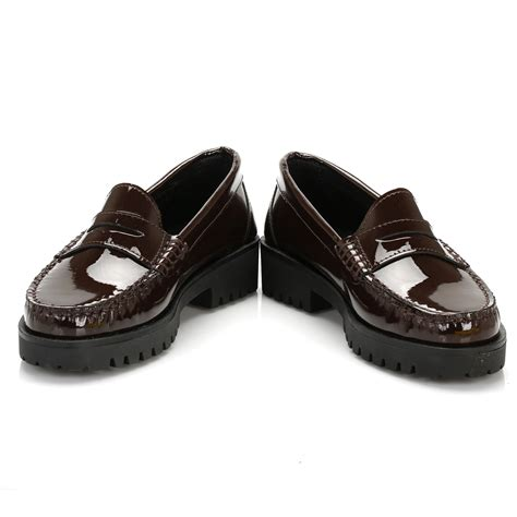 patent womens loafers tower womens maroon patent leather loafers casual