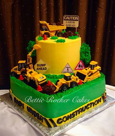 Construction Baby Shower Ideas by Construction Baby Shower Cake Baby Shower Ideas
