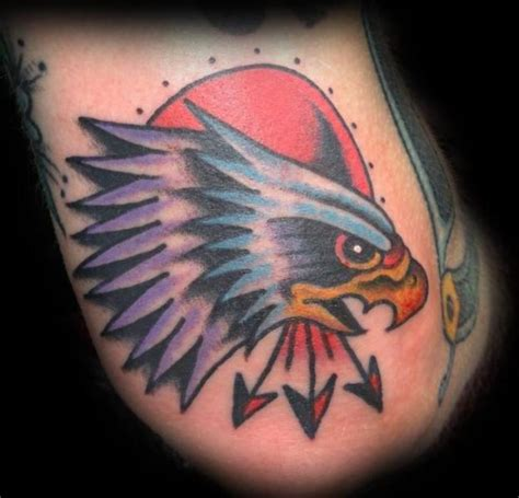 tattoo eagle old school arrows old school eagle tattoo golfian com