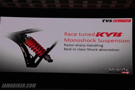 Mono Shock Ride It Gp 150r tvs apache rtr 200 mono shock iamabiker