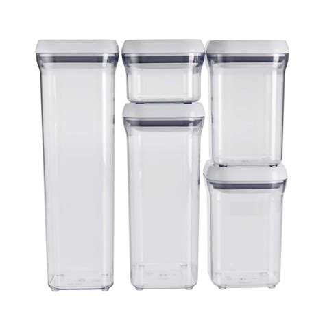 Kitchen Canister Sets Australia 5 Piece Pop Container Set Oxo