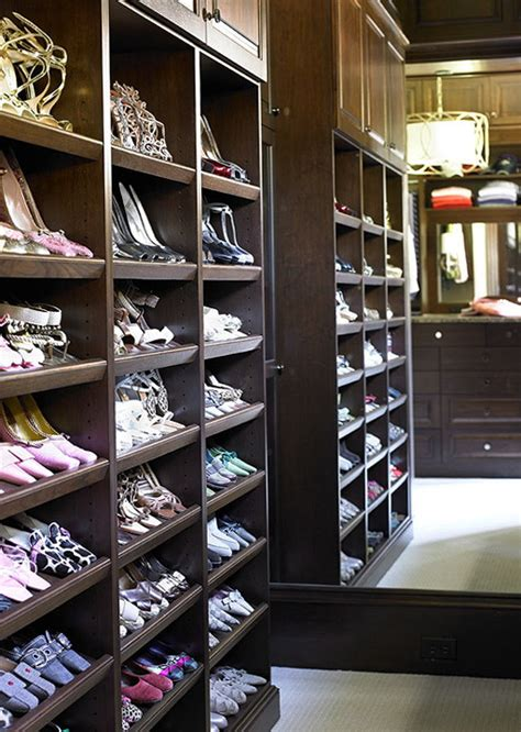 built  shoe racks  closets home design ideas