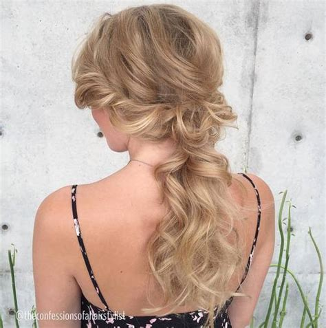 Low Ponytail Hairstyles by 35 Simple Ponytail Hairstyles