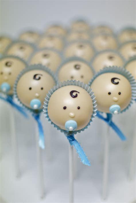 Boy Baby Shower Cake Pops by Baby Shower Cake Pops
