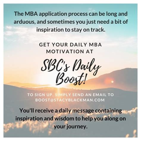 How To Get An Mba In Your 40s by Sbc Boost Your Mba Motivation For 2018 The Gmat Club