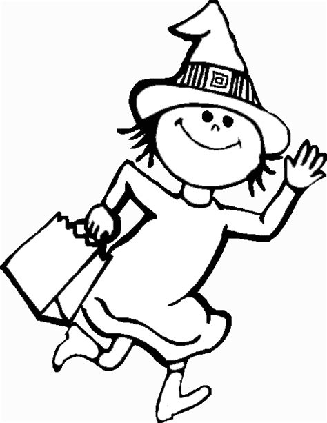 witch costume halloween coloring page halloween coloring book pages dancing witch coloring