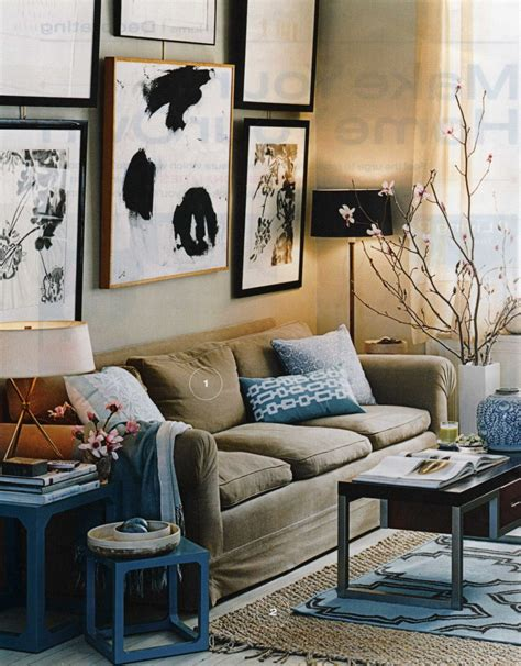 decorating with blue navy blue and brown living room ideas living room