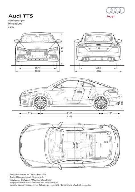 Audi Tt Kofferraum Ma E by Audi Tt S Coupe 2 0 Tfsi Quattro 2014 Autokatalog